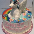 3D Unicorn with Wings