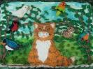 Jungle Birds and Cat