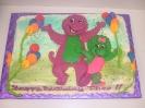 Purple Dinosaur and Friend