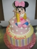 Minnie Mouse in Pastels