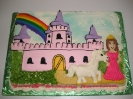 Princess and Castle Drawn on