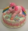 Toy Pony with rainbow