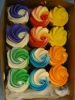 Swirls Rainbow Colors