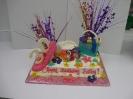 Shopping theme sheet cake