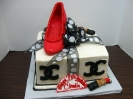 Designer Box with Shoe and Lipstick