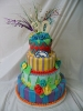 Fondant Diamonds and Wacky Stripes