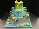 Lily Pads on 3 Tier Square