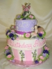 Hat Box design with fairy toppers