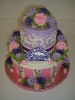 Hat box design with buttercream top