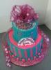 Birthday Tiara on Tier