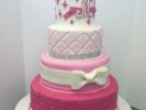 Quilted & Jewel Banding with Fondant Bow _1