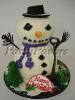 Christmas_Snowman Freestanding