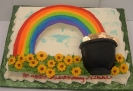 St Patricks Day_Rainbow and Pot of Gold on Sheet