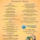 Thanksgiving menu 2020