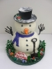 Winter_Snowman Freestanding