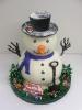Winter_Snowman Freestanding