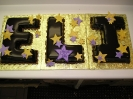 Cutout Letters with Ganache