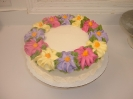 floral_Wreath of Flat flowers