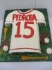 Baseball jersey cutout