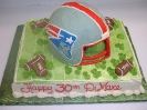 Football Helmet 3D on sheet